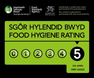 Food hygiene rating for Wales