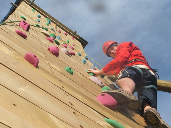 advanced climbing @ Llain Activity Centre